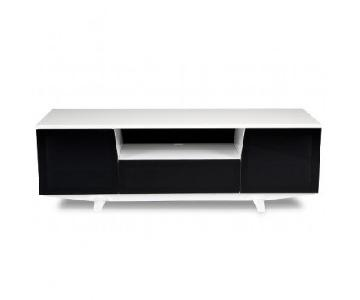 Jensen-Lewis Black & White Marina TV Stand