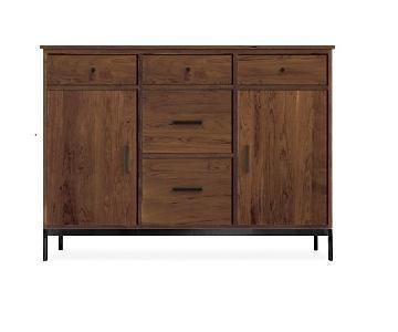 Room & Board Custom Linear Cabinet in Walnut