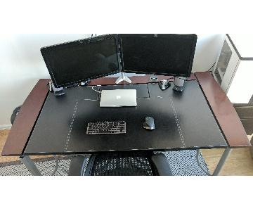 Office Depot Office Desk & Cabinet