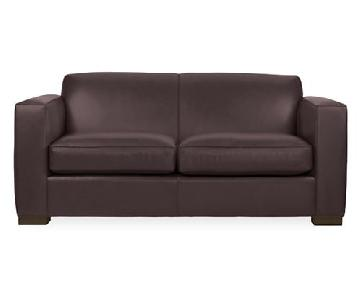 Room & Board Ian Leather Sofa