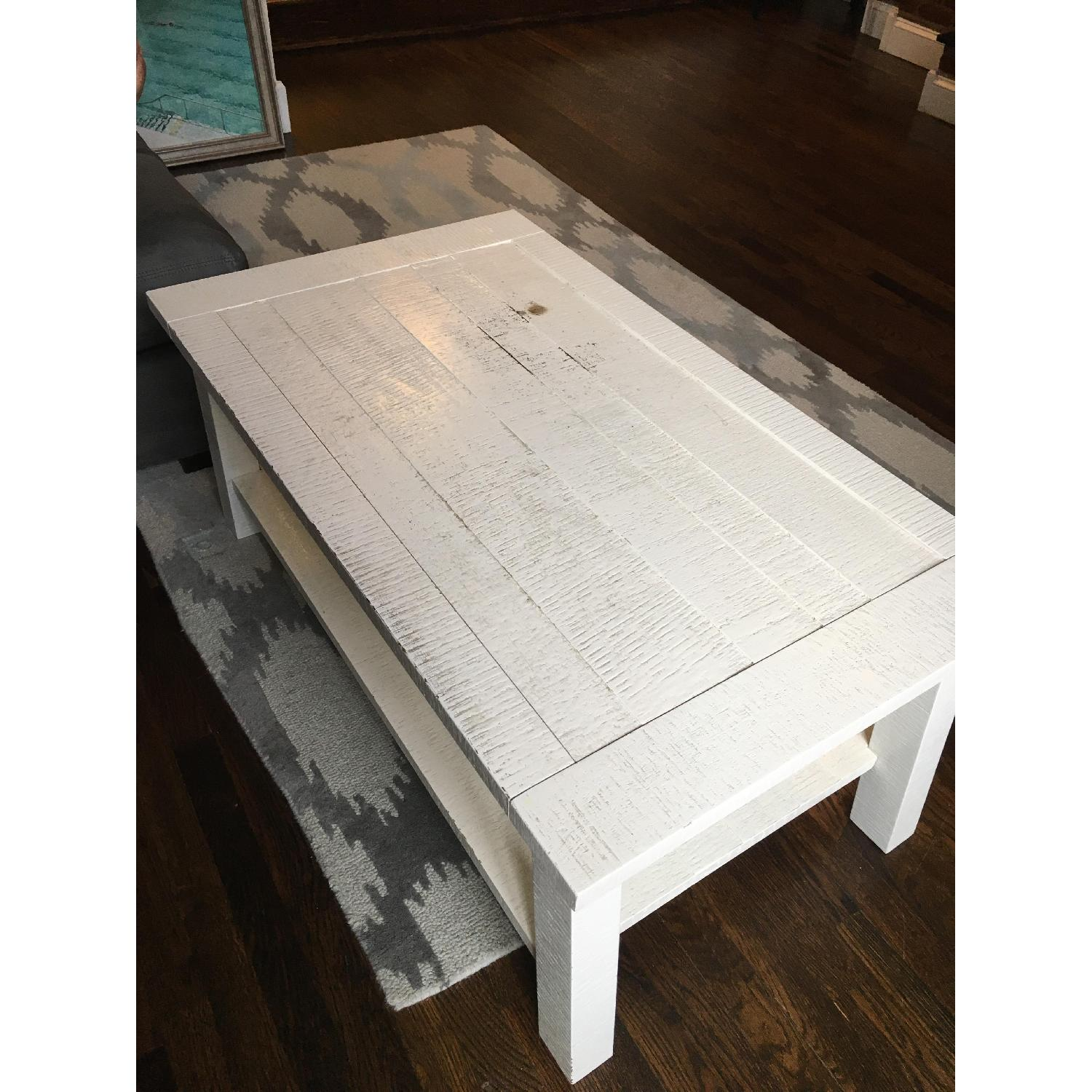 100 [ West Elm Lacquer Storage Coffee Table ]