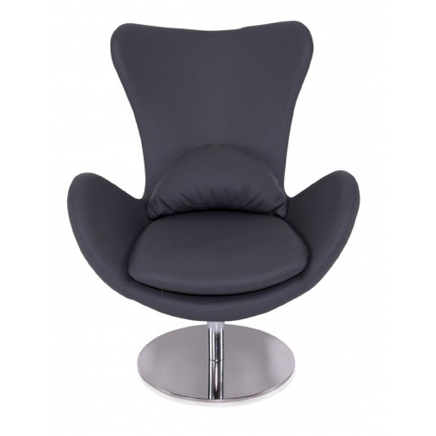 Modani Milton Modern Arm Chair in Gray