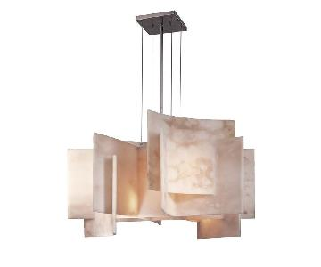 George Kovacs Lighting Five Light Chandelier in Brushed Nick