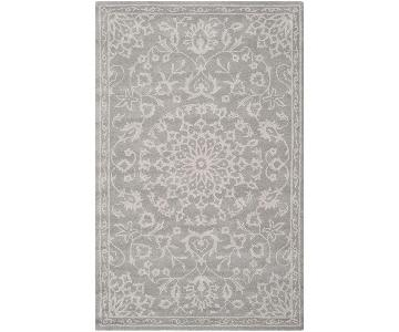 Safavieh Handmade Bella Grey/Silver Wool Area Rug