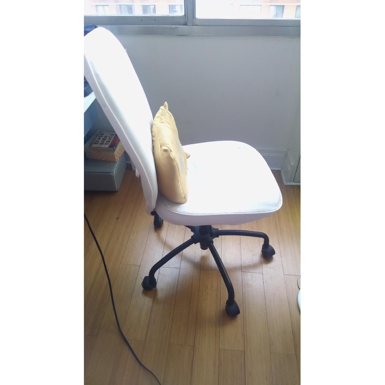 Ikea White Desk White Chair Aptdeco