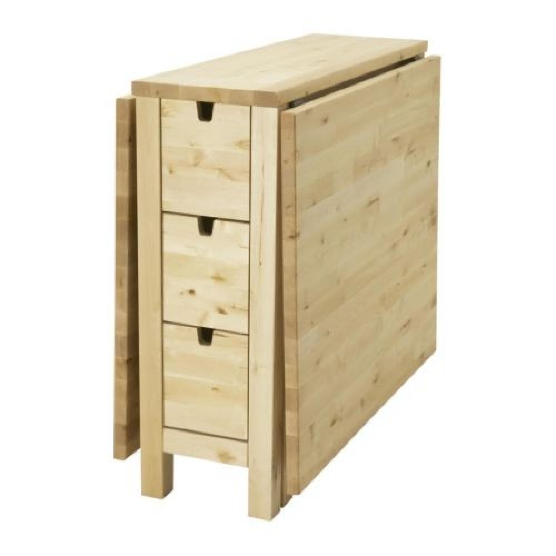 Ikea Norden Gateleg Table Birch Aptdeco