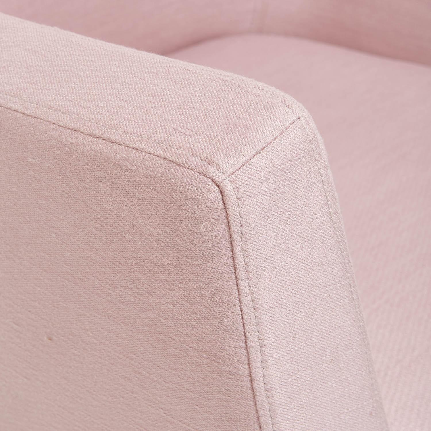 ABC Carpet & Home Pittsburg Pink Armchair - image-4