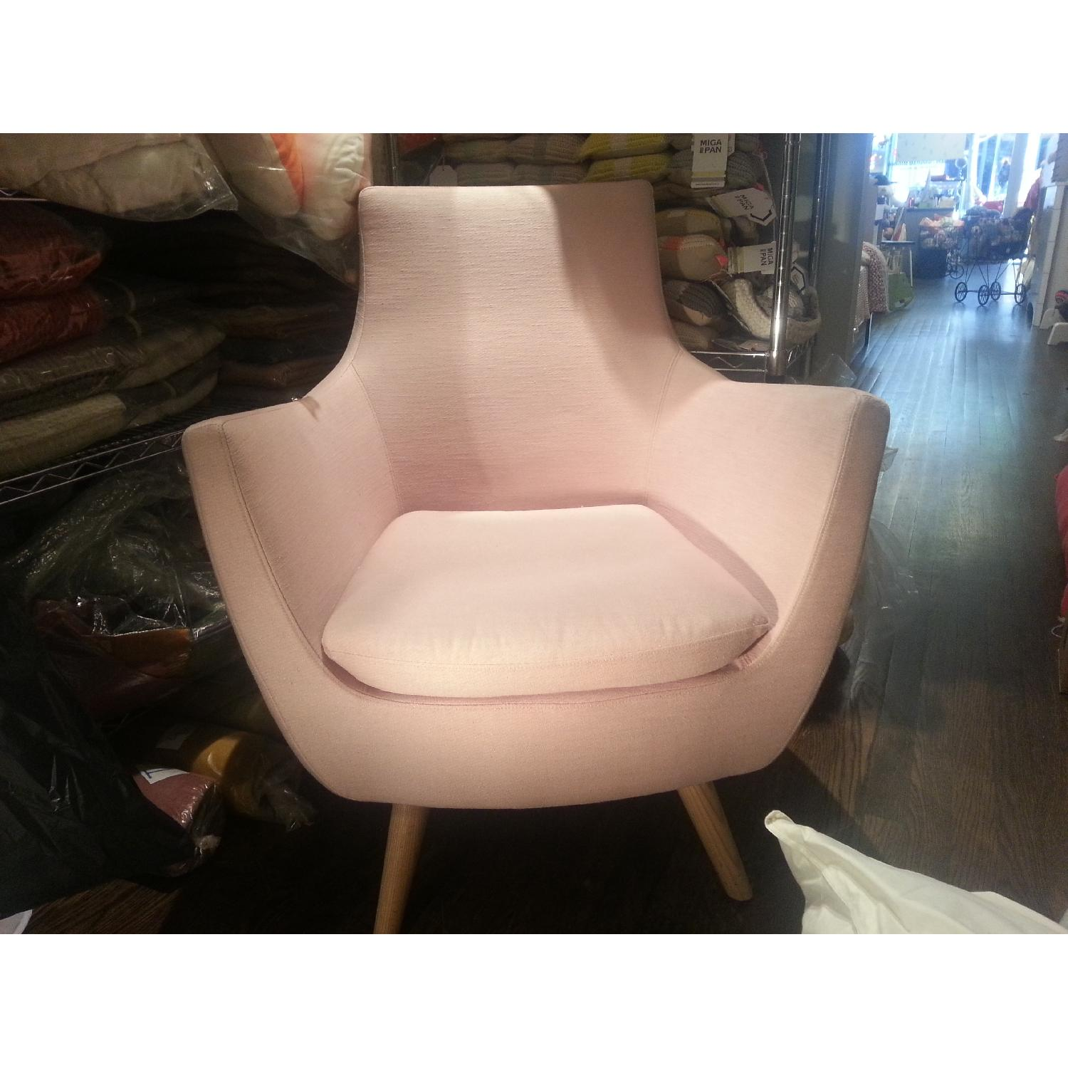 ABC Carpet & Home Pittsburg Pink Armchair - image-5