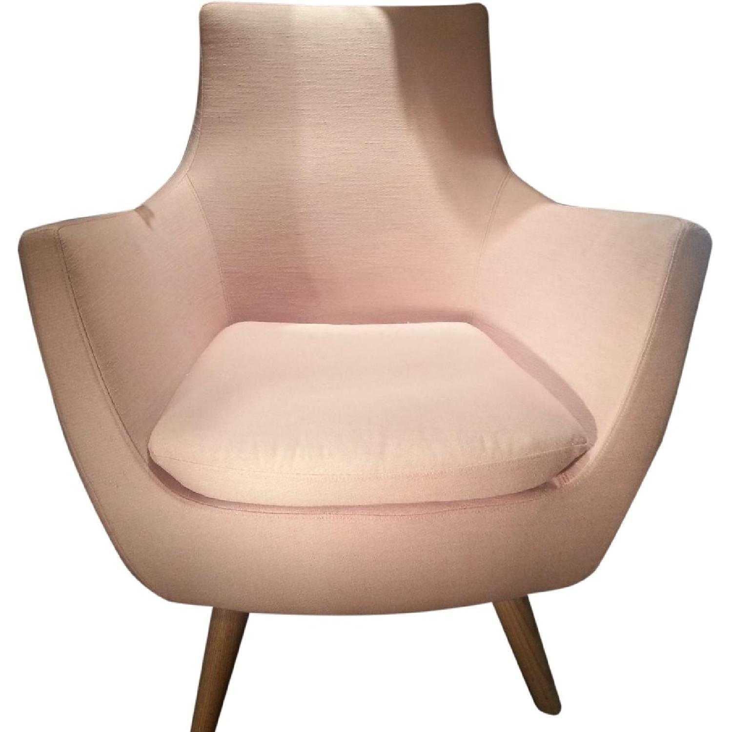 ABC Carpet & Home Pittsburg Pink Armchair - image-0