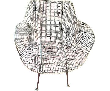 Vintage Woodard Sculptura Chair