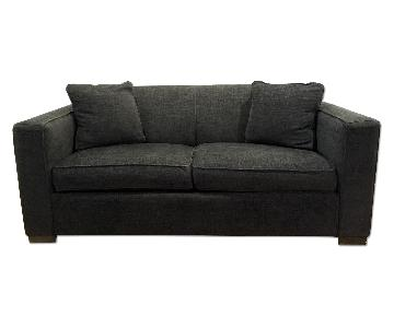 ABC Carpet & Home Cobble Hill Elizabeth Sleeper Sofa in Charcoal