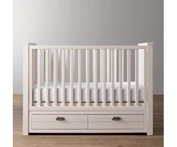 Restoration Hardware Haven Storage Panel Crib