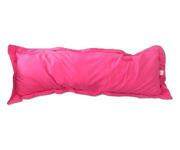 Hot Pink Long Pillow