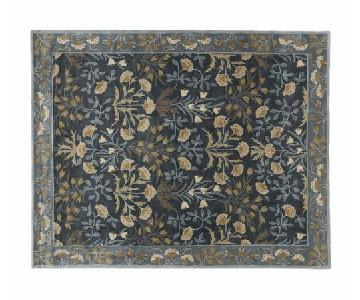 Pottery Barn Adelaide Navy Area Rug