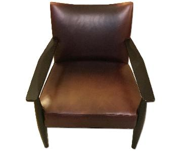 Mitchell Gold & Bob Williams Draper Leather Chair