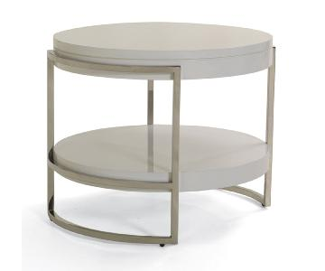 Mitchell Gold + Bob Williams Lawson Round Side Table