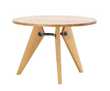 Vitra Gueridon Jean Prouve Round Dining Table