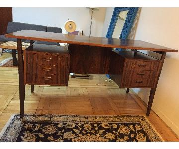 Arne Vodder Danish Mid Century Rosewood Floating Desk