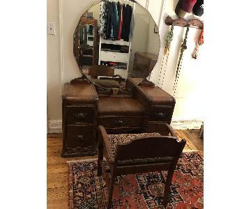 Art Deco Style Vanity & Chair