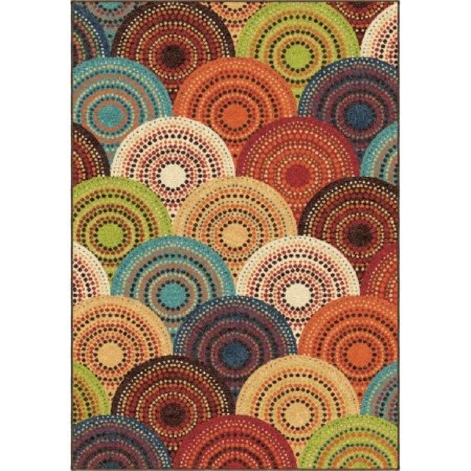 Better Homes And Gardens Bright Dotted Circles Area Rug Aptdeco