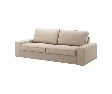 Ikea Sleeper Sofa & Ottoman