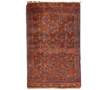 Antique 1880s Turkoman Rug