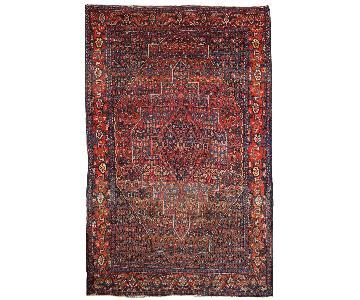 Antique 1900s Persian Senneh Rug