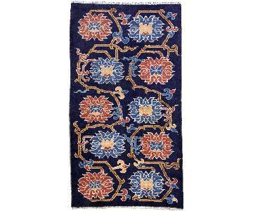 Antique 1900s Tibetan Khaden Rug