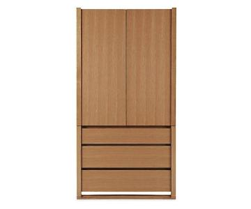 Design Within Reach Matera Solid Walnut Armoire