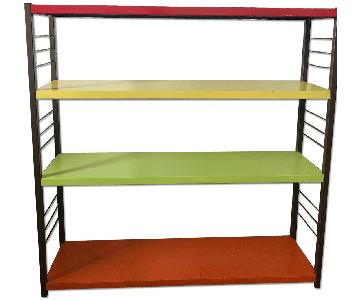 Multi Color Metal Shelf