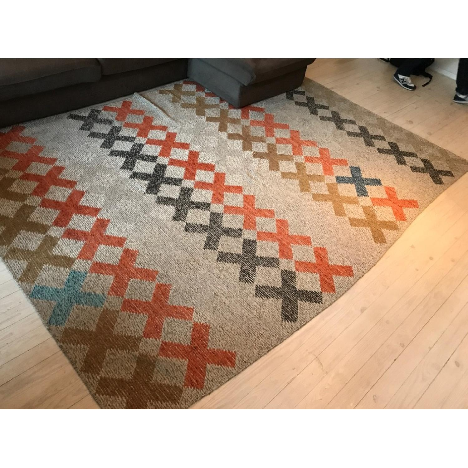 CB2 X Pop Dhurrie Area Rug-0