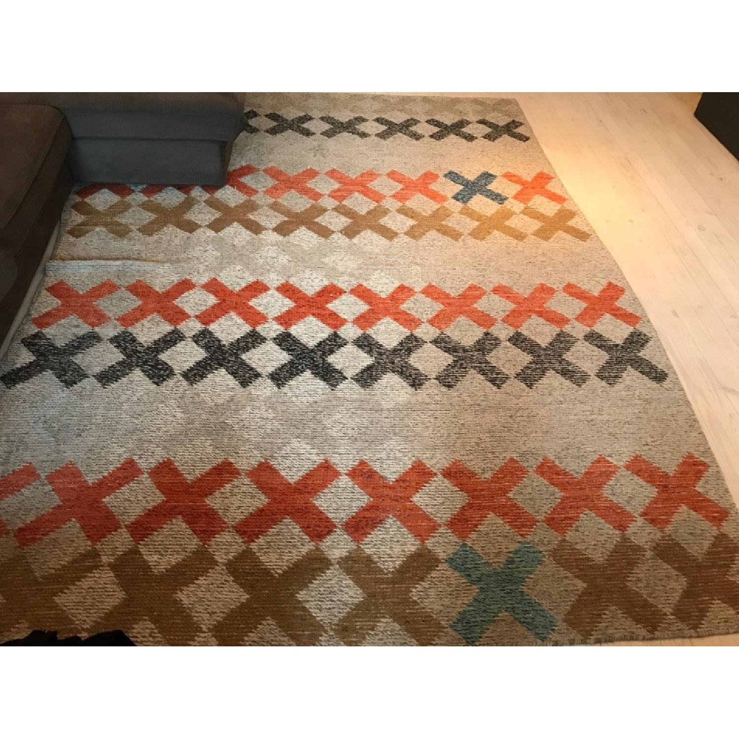 CB2 X Pop Dhurrie Area Rug-1