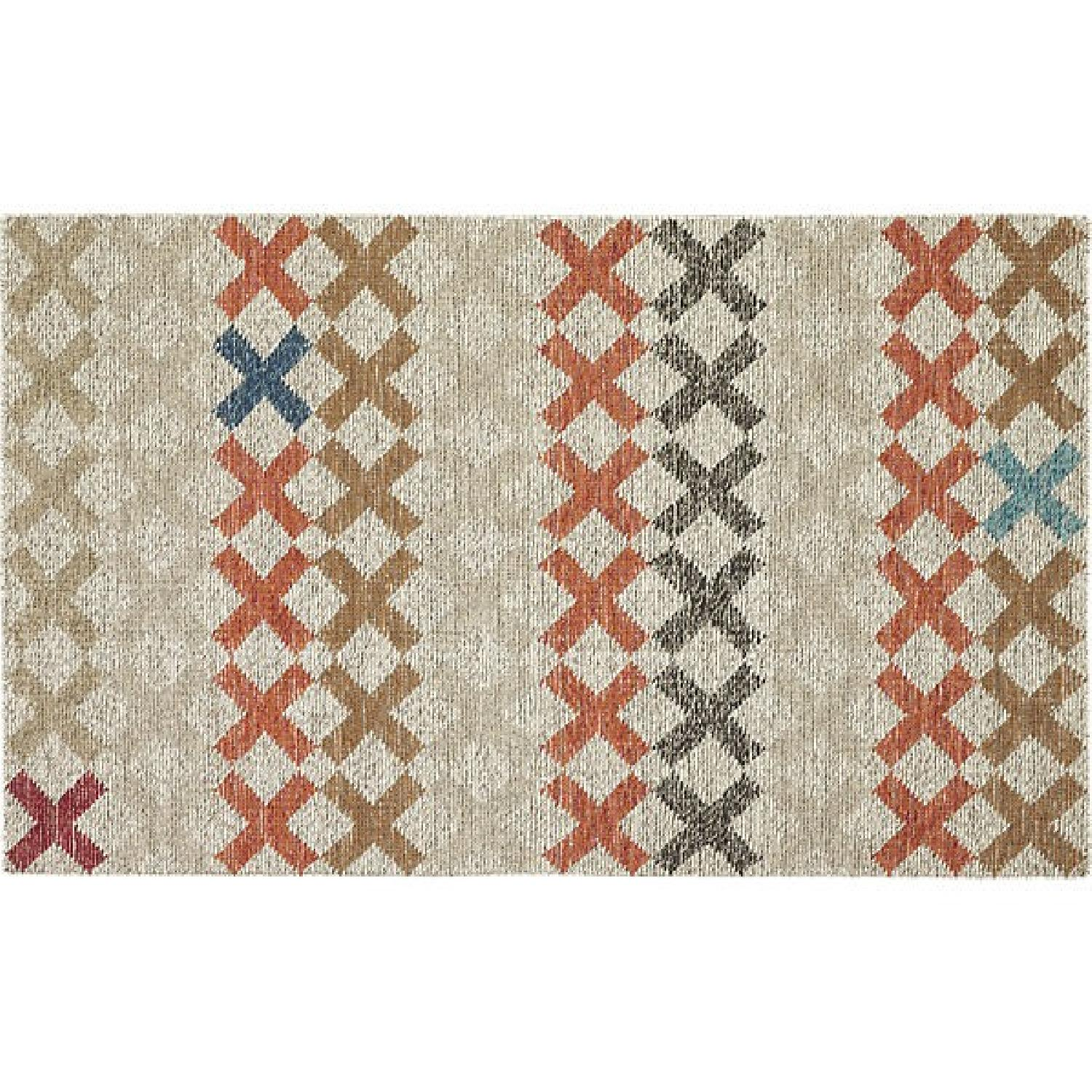 CB2 X Pop Dhurrie Area Rug