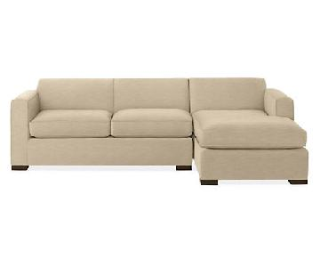 Room & Board Ian Sectional Sofa w/ Right-Arm Chaise