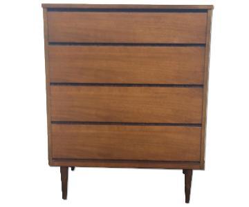 Bassett Vintage Highboy Dresser