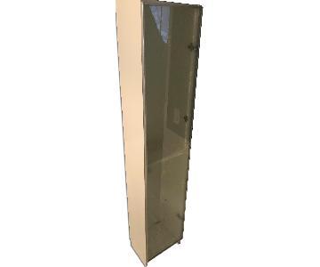 Bathroom Glass Door Storage Unit