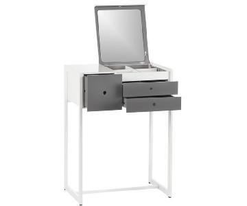 CB2 Small Storage Vanity Table