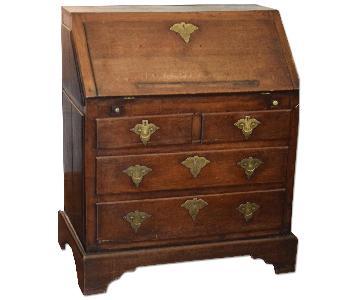 19th Century Oak Roll Top Desk