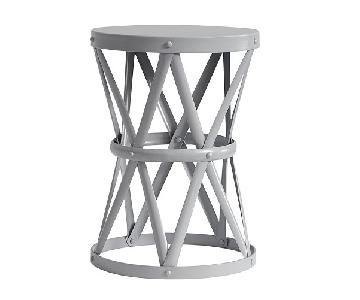 Pottery Barn Jordan Metal Side Table