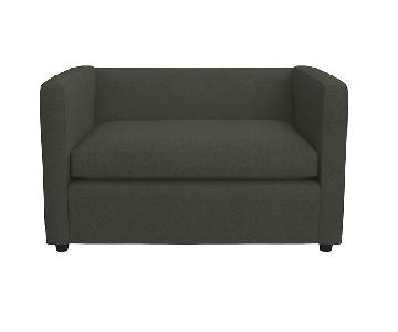 CB2 Movie Birch Twin Pull Out Sofa