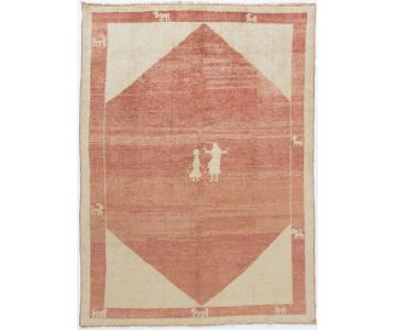 Gabbeh Hand-Knotted Rug