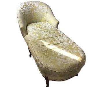 Vintage Victoria Brocade Chaise