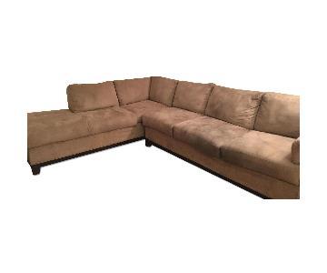 Jennifer Convertibles L Shaped Sectional Sofa
