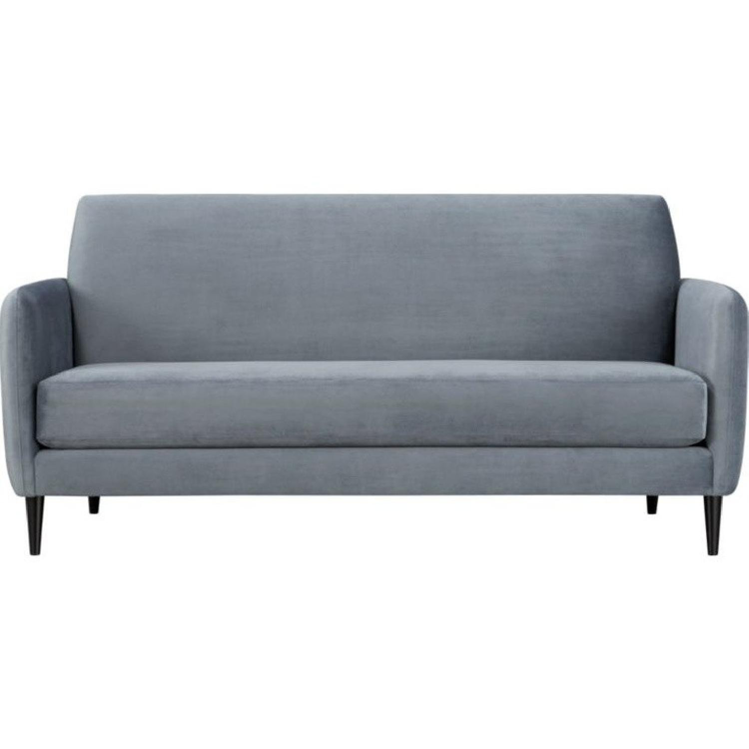Navy Blue Velvet Sofa Blue Velvet Couch Royal Blue