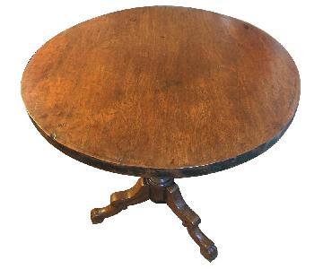 Vintage American Victorian Tripod Table