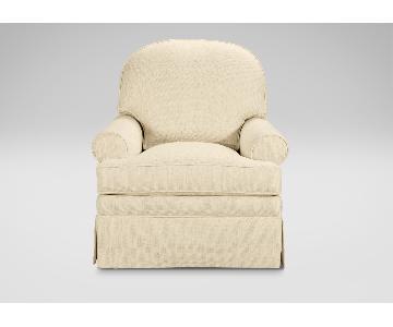 Ethan Allen Swivel Glider Chair
