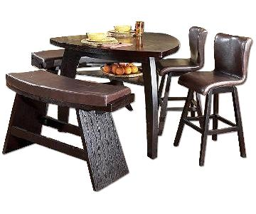 Raymour & Flanigan 4 Piece Dining Set