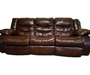 Ashley's Power Recliner Couch + Loveseat w/ Entertainment Co