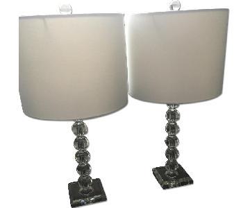 Wayfair White & Glass Table Lamps