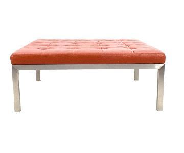 Room & Board Leather Ravella Coffee Table